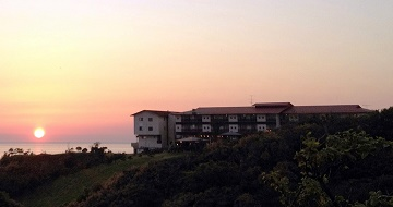 "Aikawa Hot Springs ""The hotel closest to the setting sun"" Hotel Azumaの画像"